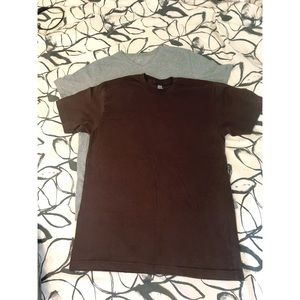 American Apparel & Mossimo Men's T's - 2 Medium